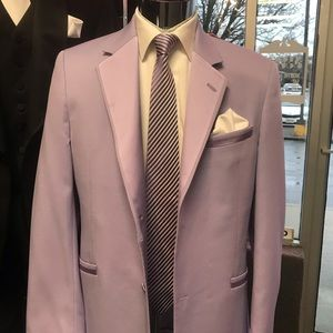 Retro Andrew Fezza Lavender Tuxedo Jacket